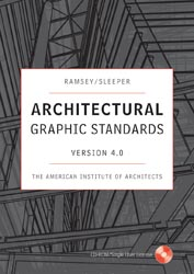 Architectural Graphic Standards 4.0 CD ROM Windows