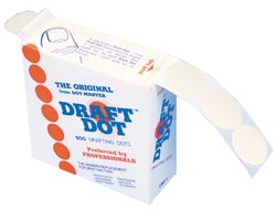Drafting Dots 500 Dots With Dispenser Box