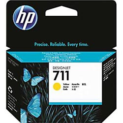 HP 711 29 ml Yellow Ink Cartridge