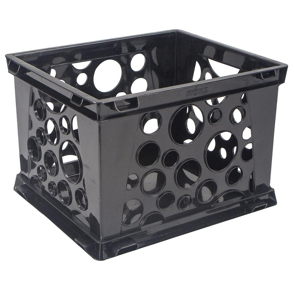 Large File Crate Black
