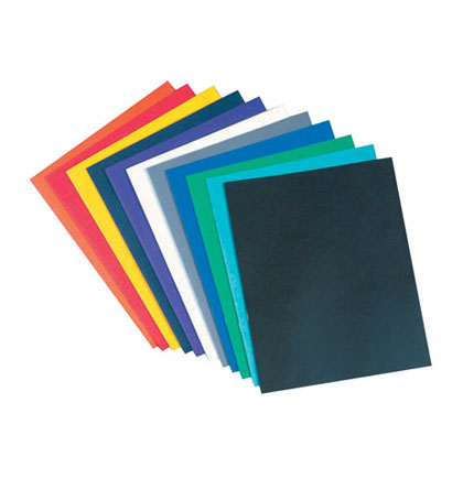 25ct Assorted Leatherine Two Pocket Portfolio