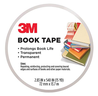 "3"" x 540"" Scotch Book Tape"