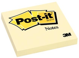 [654YW MMM] Post It Note Canary 3in x 3in Single