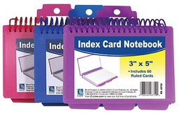 [73138 ESS] Spiral Bound Index Cards Notebook with Tabs