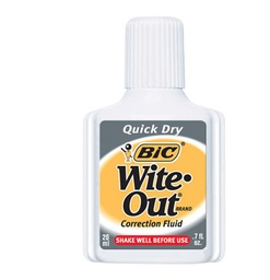 [WOFQD12 BIC] Wite-out Quick Dry Correction Fluid