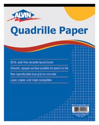 "[143014 ALV] 17""x22"" 8x8 Quadrille Drawing Paper 100 Sheets"