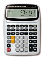 [44080 CALC] Construction Master Pro Desktop Model(Trig)     EA