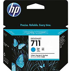 [CZ130A HEW] HP 711 29 ml Cyan Ink Cartridge