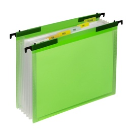 [58203 CL] Expanding File Folder with Hanging Tabs
