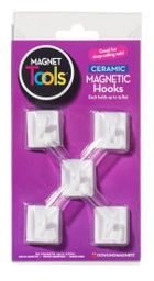 [735008 DOW] Ceramic Ceiling Hook Magnets Set of 5