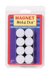 [735007 DOW] 100ct 3/4in Round Adhesive Backed Magnetic Dots