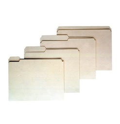 [75212 ESS] 100ct Half Cut Manila File Folders      Box