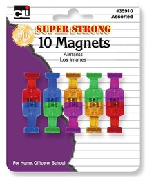 [35910 CLI] 10ct Push Pin Magnets