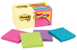[654144B MMM] 18ct 3x3 Post It Note Value Pack