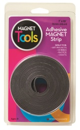 [735005 DOW] 1in x 10ft Hold Its Magnetic Strip with Adhesive