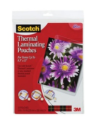 [TP385420 MMM] 20ct Letter Size Scotch Thermal Laminating Pouches