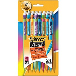 [MPLWP241 BIC] 24ct BIC Xtra Strong Pencils