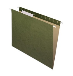 [81601 ESS] 25ct 1/3 Cut Letter Size Hanging File Folders