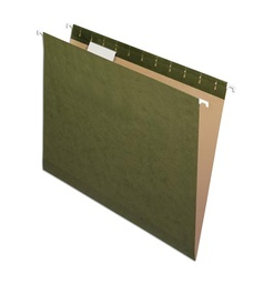 [81602 ESS] 25ct 1/5 Cut Letter Size Hanging File Folders