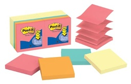 [R33014YWM MMM] 3x3 Pop up Post It Notes 7 Yellow Pads 7 Bright Pads