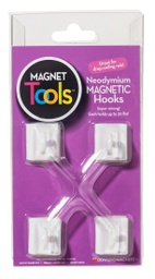 [735000 DOW] 4ct Ceiling Hook Magnets