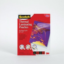 [TP385450 MMM] 50ct Letter Size Scotch Thermal Laminating Pouches
