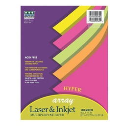 [101155 PAC] 100ct 8.5x11 Array Hyper Multipurpose Paper