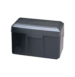 [01351 ESS] Black 3x5 Plastic Card File             Each