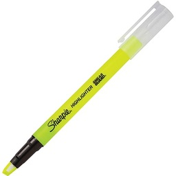 [1950447 SAN] Fluorescent Ylw Sharpie Clear View Highlighter Ea
